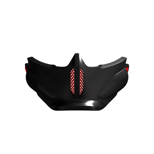 Black Inferno Mask