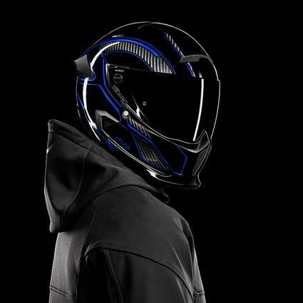 Atlas 3.0 Carbonized Ice | Full Face Motorcycle Helmet