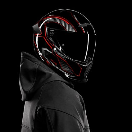Atlas 3.0 Carbonized Inferno | Full Face Motorcycle Helmet