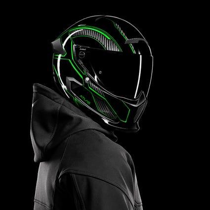 Atlas 3.0 Carbonized Viper | Full Face Motorcycle Helmet