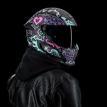 Atlas 3.0 La Calavera | Full Face Motorcycle Helmet