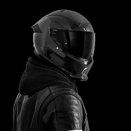 Atlas 3.0 Helmet - Liquid Carbon