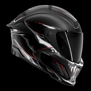 Berserker Impaler - Full Face Motorcycle Helmet