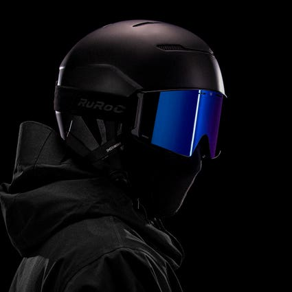 Ecrans de Masque LITE - Bleu Polarisé