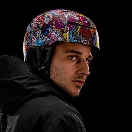 LITE Helmet - Stickerbomb