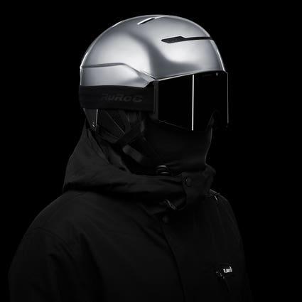 LITE Helmet System - Chrome