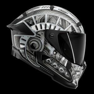 Berserker Mech - Full Face Motorcycle Helmet