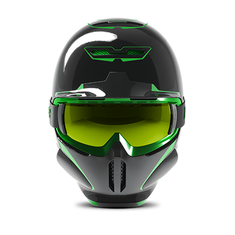 766a843cf9c26b Ruroc | RG1-DX Chaos Viper | Ski & Snowboard Helmet | Ruroc
