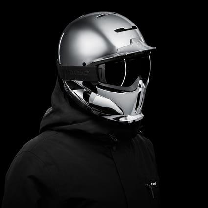 RG1-DX Chrome Ski Helmet