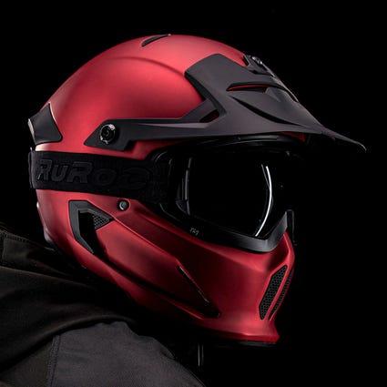 Berserker Crimson- Full Face Motorcycle Helmet