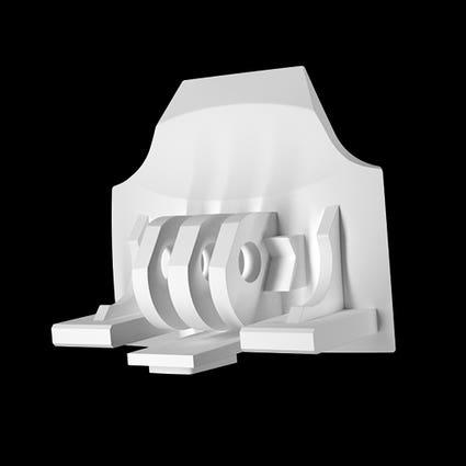 RG1-DX GoPro Mount - White