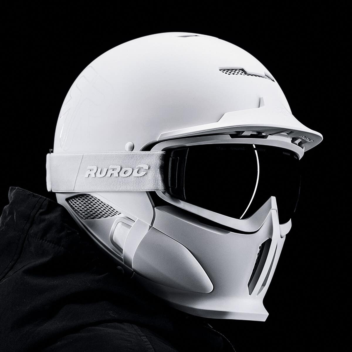 RG1-DX Ghost - Full Face Ski Helmet