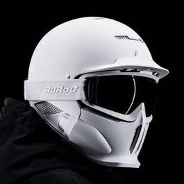 Ruroc    RG1-DX Ghost   Full Face Snow-Sports Ski Helmet