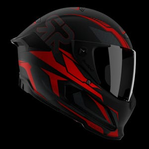 Atlas 2.0 Carbon Helmet - Hellfire