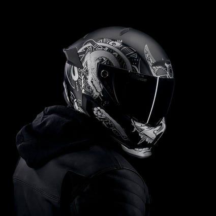 Atlas 1.0 Carbon Helmet - Platinum Ronin