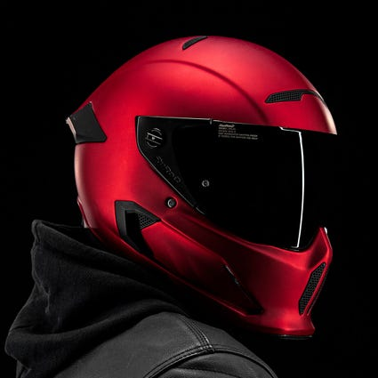 Atlas 2.0 Carbon Helmet - Crimson