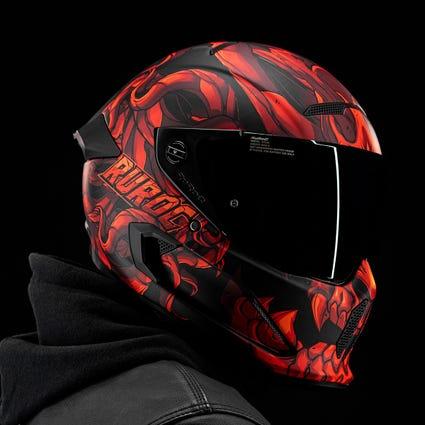 Atlas 2.0 Carbon Helmet - El Diablo