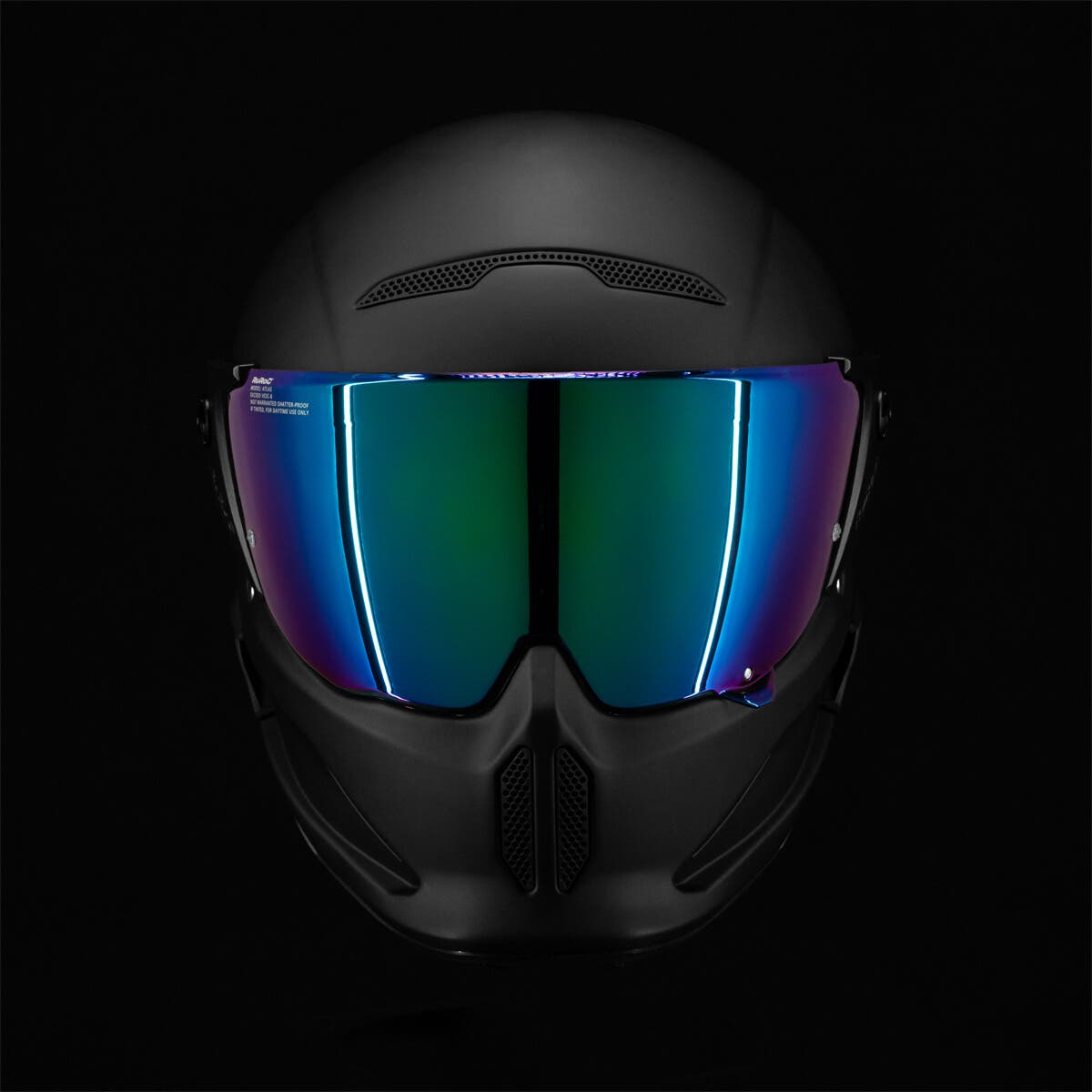 Atlas 2.0 Visor Green Iridescent