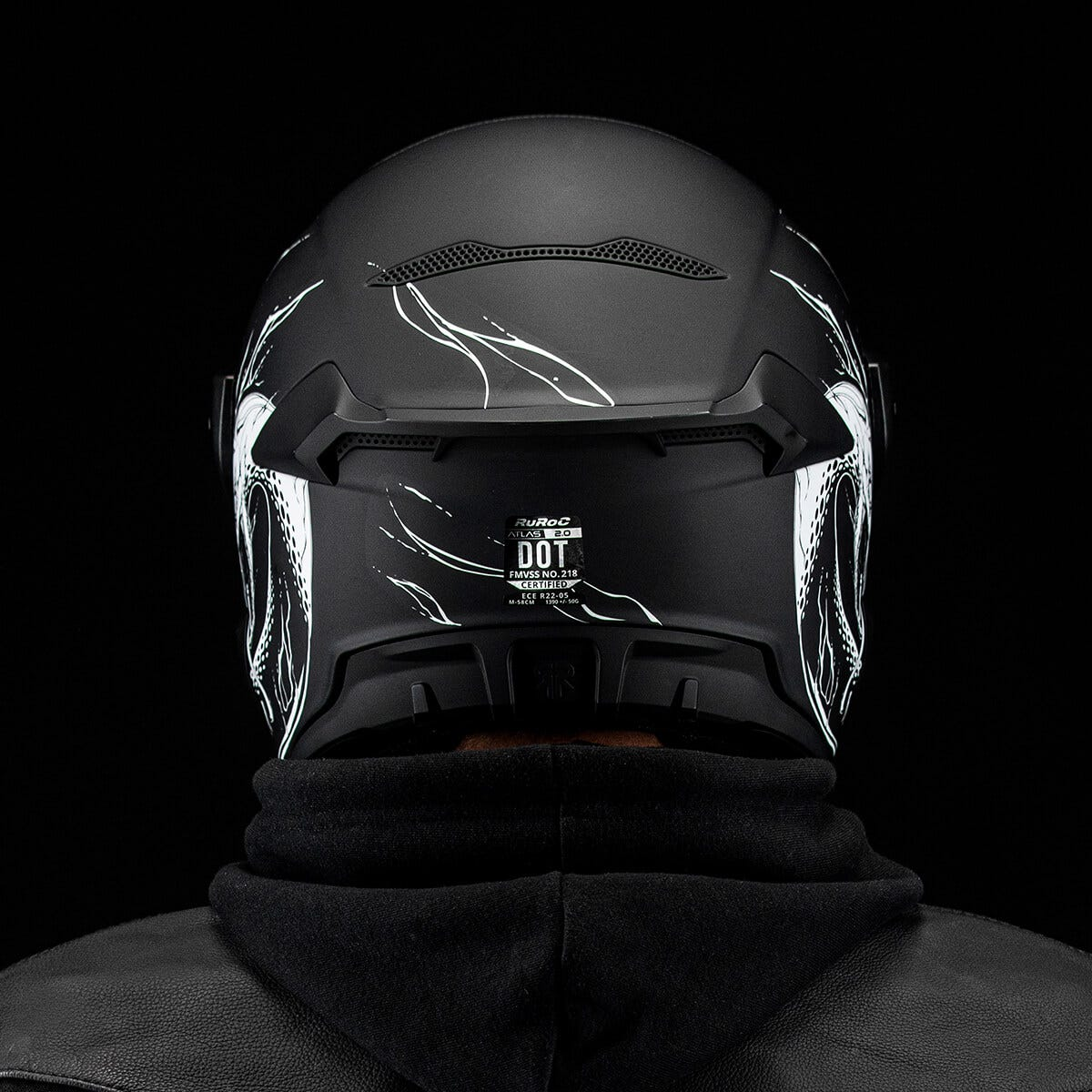 Atlas 2.0 Helmet - Nerve Decay rear