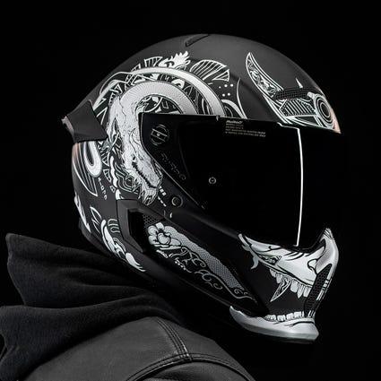 Atlas 2.0 Carbon Helmet - Platinum Ronin