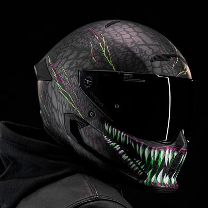Atlas 2.0 Carbon Helmet - Toxin