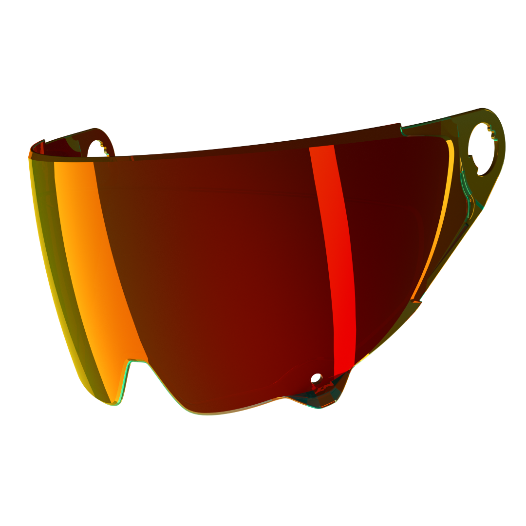Atlas 2.0 Visor Red Iridescent