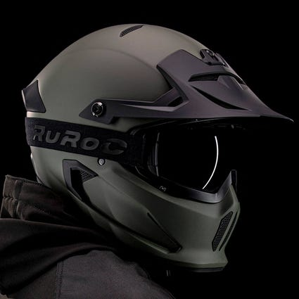 Berserker Camo - Full Face Motorcycle Helm