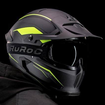 Berserker Fluoro - Full Face Motorcycle Helmet