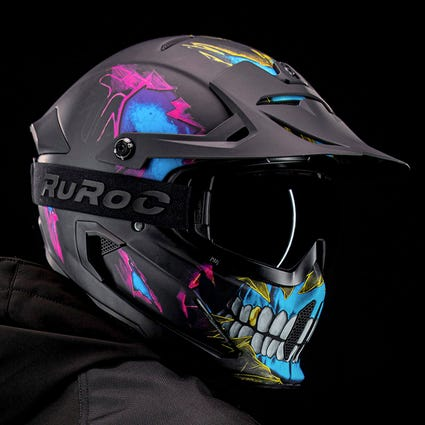 Berserker Frenzy - Full Face Motorcycle Helmet