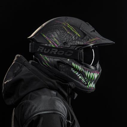 Berserker Toxin - Full Face Motorcycle Helmet