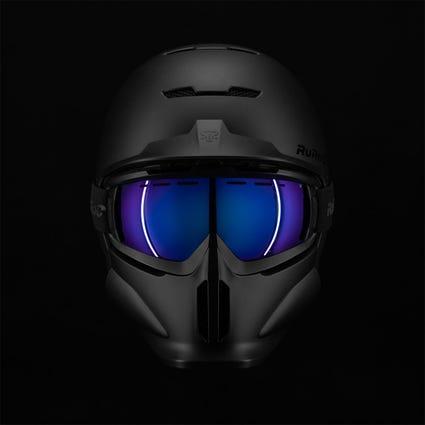 RG1-DX Magloc Goggle Lens - Blue Iridescent