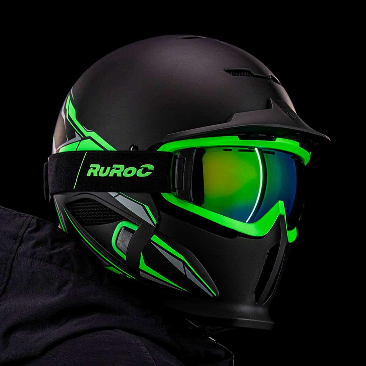 NOT FOR ROAD USE Spada RP700//RP800 Visor Dark Rainbow