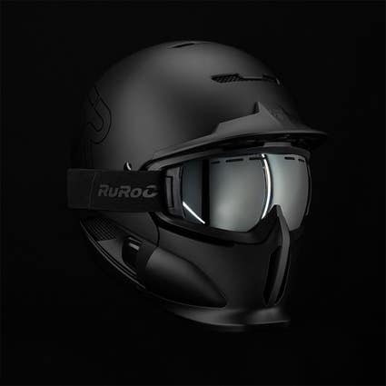 RG1-DX Magloc Goggles (Asian Fit) - Chrome