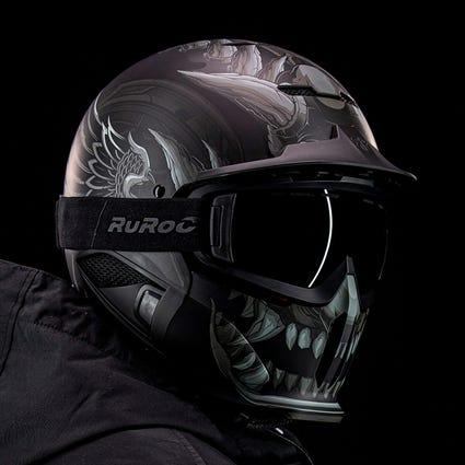 RG1-DX Snow-Sports Helmet - Gargoyle