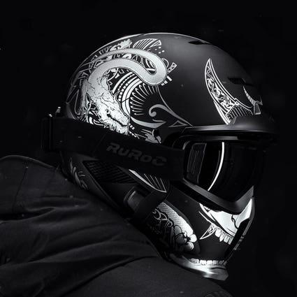 RG1-DX Snow-Sports Helmet - Platinum Ronin