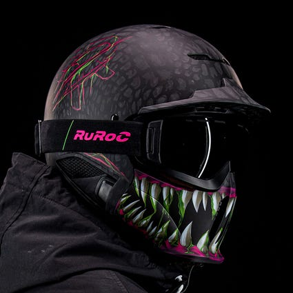 RG1-DX Snow-Sports Helmet - Toxin