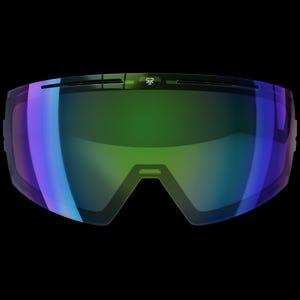 Berserker Goggle Lens - Green Iridescent